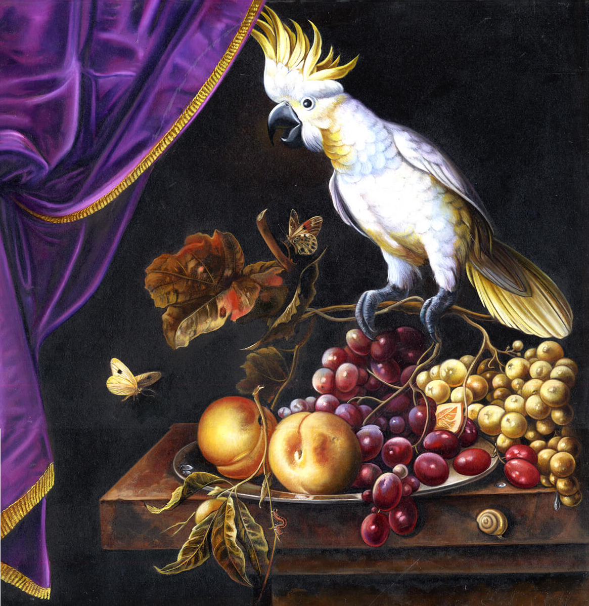 37-Still life with Cockatoo